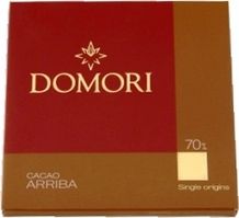 "Domori Italian Chocolate - Single Origin ""Arriba"", 70% Cocoa, 25g/0.88oz. (Single)"