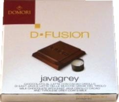 "Domori Italian Milk Chocolate Bar - D-Fusion ""Javagrey"", 45% Cocoa, 25g/.88oz (6 Pack)"