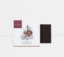 "Domori ""Porcelana"", Cacao Criollo series,  Italian Dark Chocolate Bar, 70% Cocoa, 25g/.88oz. (6 Pack)"