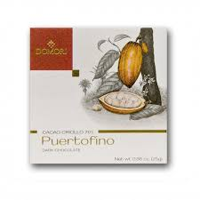 "Domori ""Puertofino"", Cacao Criollo series, Italian Dark Chocolate Bar, 70% Cocoa, 25g/.88oz (12 Pack)"