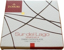 "Domori ""Sur Del Lago"", Italian Dark Chocolate Bar - Single Origin, 70% Cocoa, 25g/.88oz. (Single)"