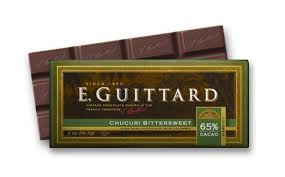"""E. Guittard Chocolate - """"Chucuri - Colombia"""" Bittersweet Chocolate Bar, 65% Cocoa, 56.7g/2.0oz.(6 Pack)"""