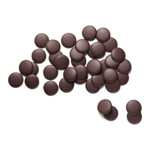 """E. Guittard Chocolate - """"La Premiere Etoile"""" Semisweet Dark Chocolate Wafers for Baking and Eating, 58% Cocoa, 25 Pound Box (Single)"""
