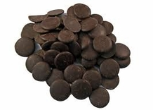 """E. Guittard Chocolate - """"La Premiere Etoile"""" Semisweet Dark Chocolate Wafers for Baking and Eating, 58% Cocoa, Repackaged, 2lb (Single)"""