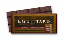 "E. Guittard Chocolate - ""Sur del Lago - Venezuela"" Bittersweet Chocolate Bar, 65% Cocoa, 56.7g/2.0oz.(6 Pack)"