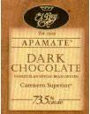 "El Rey Venezuelan Chocolate - Single Origin ""Apamate"" Dark Bar, 73% Cocoa, 80g/2.8oz. (12 Pack)"