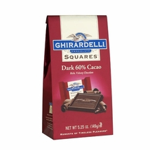 Ghirardelli Chocolate - 60% Dark Squares 5.25oz