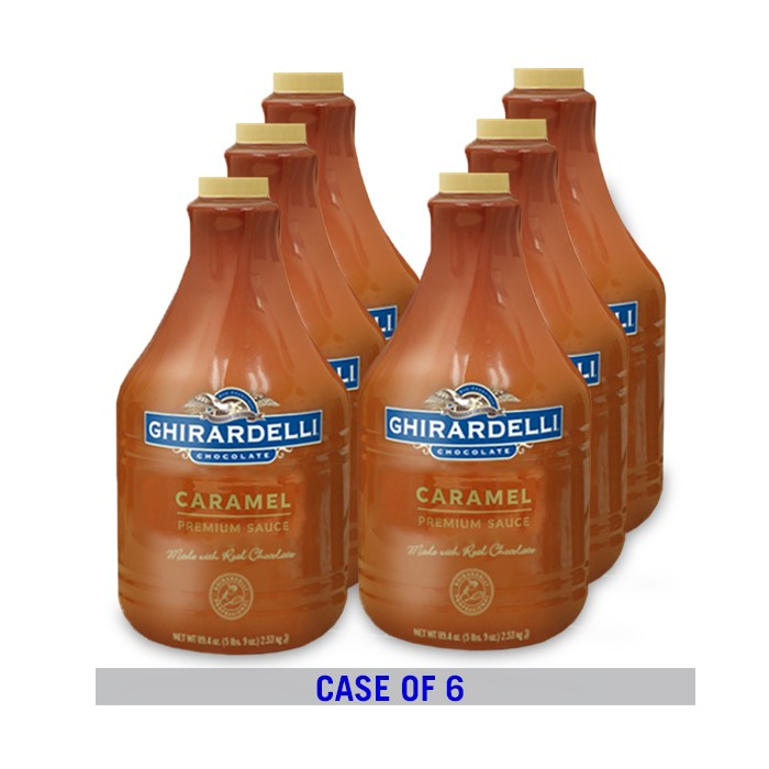 "Ghirardelli ""Caramel"" Sauce 90.4 FL/OZ / Bottle (Case of 6)"