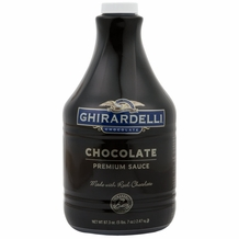 "Ghirardelli Black Label ""Chocolate"" Syrup 87.3 Fl.OZ. (Single)"