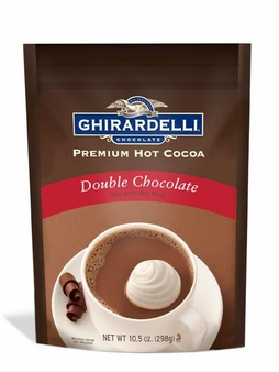 "Ghirardelli Chocolate - ""Double Chocolate"" Hot Chocolate BAG, 298g/10.5oz. (3 Pack)"