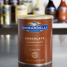 Ghirardelli Chocolate Flavored Frappe 50oz Can