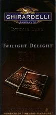 "Ghirardelli Chocolate - Intense Dark Chocolate ""Twilight Delight"", 72% Cocoa, 100g/3.5oz (6 Pack)."