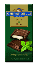 Ghirardelli Chocolate - Mint Chocolate Premier Bar, 85g/3.0oz. (6 Pack)