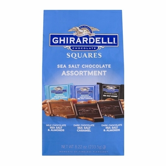 Ghirardelli Chocolate Squares Sea Salt Chocolate Assortment 8.22oz (Single)