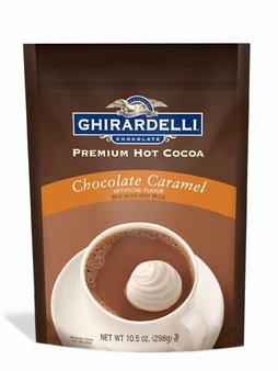 "Ghirardelli Chocolate - ""Caramel"" Hot Chocolate, 298g/10.5oz. (6 Pack)"
