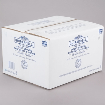 Ghirardelli Sweet Ground Chocolate & Cocoa 30-lb case
