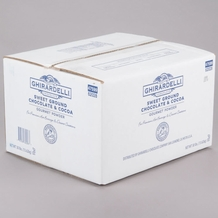 Ghirardelli SWEET GROUND CHOCOLATE AND COCOA 30-lb case