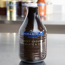 "Ghirardelli ""Sweet Ground Chocolate & Cocoa"" Sauce 90.4 Fl. Oz."