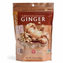 Gin Gins - Crystallized Ginger Candy 3oz/84g (Pack of 6)