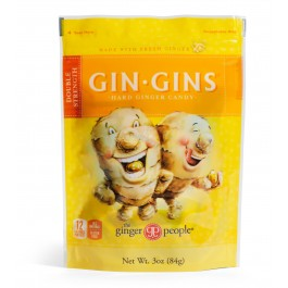 Gin Gins- Double Strength Hard Candy, 3oz/84g