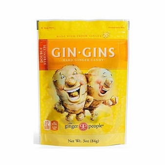 Gin Gins- Double Strength Hard Candy, 3oz/84g (Single)