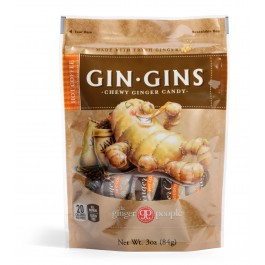 Gin Gins- Hot Coffee Ginger Candy, 3oz/84g (6 pack)