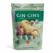 Gin Gins- Original Chewy Candy, 3oz/84g (6 Pack)