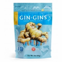 Gin Gins- Peanut Ginger Candy, 3oz/84g (Single)