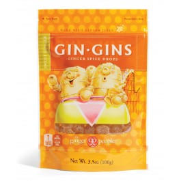 Gin Gins - Sweet Ginger Spice Drops 3oz/84g (Pack of 6)