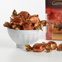 "Godiva Chocolate - 12 pc. Godiva ""Dark Chocolate Caramel"" Truffle Gems, 3.5oz./99g  (6 Pack)"