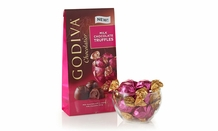 "Godiva Chocolate - 12 pc. Godiva ""Milk Chocolate"" Truffle Gems, 4.0oz./113g  (Single)"