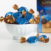 "Godiva Chocolate - 18 pc. Godiva ""Dark Chocolate Solids"" Gems, 2.6oz./74g  (Single)"