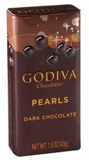 Godiva Chocolate-Godiva Chocolatier Dark Chocolate Pearls 1.5 oz (43g)  (Single)