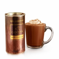 Godiva Chocolate-Godiva Chocolatier Dark Chocolate Hot Cocoa 13.1 oz/ 372g  (Single)
