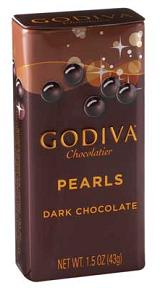 Godiva Chocolate-Godiva Chocolatier Dark Chocolate Pearls 1.5 oz (43g) (18 Pack)