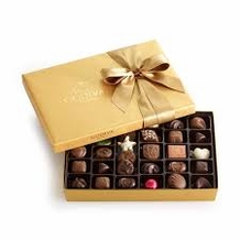 Godiva Chocolate-Godiva Chocolatier Gold Ballotin Belgian Chocolates Gift Box 36 Pieces 14.6 oz /414g  (Single)