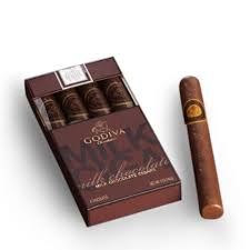 Godiva Chocolate-Godiva Chocolatier Milk Chocolate Cigars (4 Milk Chocolate Cigars) 4.9 oz/ 140g  (Single)