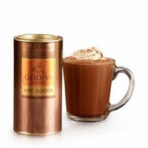 GODIVA HOT CHOCOLATE