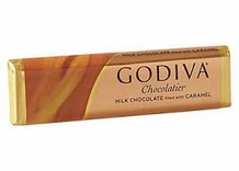 "Godiva Chocolate - ""Milk Chocolate filled with Caramel"", 43g/1.5oz. (Single)"