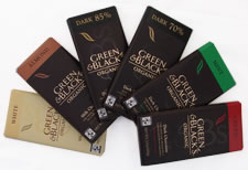 Green & Black's Organic 6 Bar Bundle - Variety of Six 3.5oz/100g Bars  (Single)