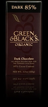 Green & Black's Organic Chocolate Bars - 100g / 3.5oz