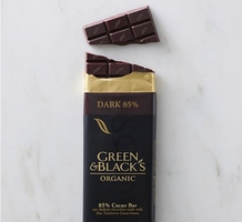 "Green & Black's Organic Chocolate - Intense Dark Chocolate, ""85% cocoa"", 100g/3.5oz(5 Pack)"