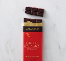 "Green & Black's Organic Chocolate - Maya Gold ""Fair Trade"" Dark Chocolate Bar, 100g/3.5oz(5 Pack)."