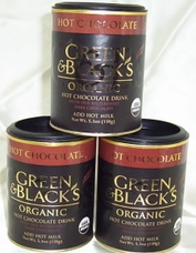 Green & Black's Organic Chocolate - Organic Hot Chocolate, 150g/5.3oz  (Single)