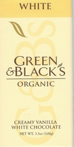 Green & Black�s White Chocolate Bars