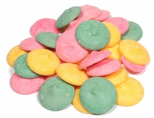 Guittard Assorted Mint Wafers, 2-lb Bag (Repackaged)