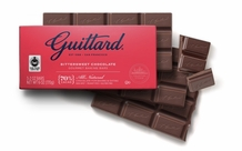 Guittard Bittersweet Chocolate Gourmet Baking Bars 70% Cocoa 3-2 oz Bars (Pack of 12)