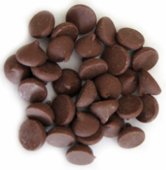 """Guittard Chocolate - 350 ct. Giant Chocolate Chips """"Milk Chocolate"""", Repackaged, 1 Pound (Single)"""