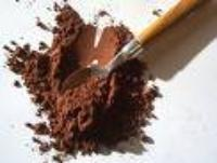 """Guittard Chocolate - Cocoa Powder, Natural Process """"Hi Fat Natural Cocoa"""", 22-24% Cocoa Butter, Repackaged, 1 Pound (Single)"""