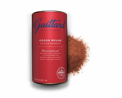 "Guittard Chocolate - ""Cocoa Rouge"" Unsweetened Cocoa Powder, 227g/8.0oz. (6 Pack)"